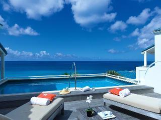 Villa Luna at Shore Point Cupecoy, Saint Maarten - Walk To Beach, Amazing Sunset View, Pool - Terres Basses vacation rentals