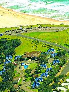 Beach Cabins Merimbula 3 Bedroom Cabin-Beach 200m - Merimbula vacation rentals