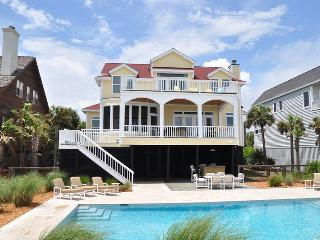 Oceanfront Home with Pool, Screen Porch, and Private Boardwalk to the Beach! - Isle of Palms vacation rentals