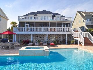 Oceanfront Home with Huge Pool, Spa, Screen Porch and Private Beach Access! - Isle of Palms vacation rentals