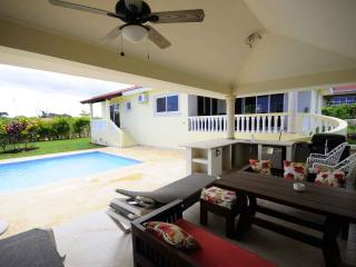 3 BDR villa with private BBQ area and pool - Sosua vacation rentals