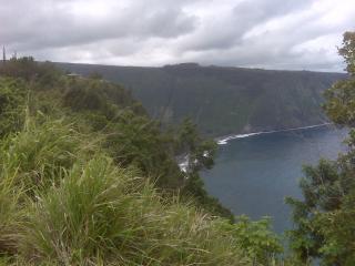 Hale Kukui studio, ocean cliff, orchard - Kukuihaele vacation rentals