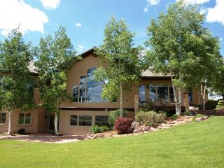 Large Custom Home on secluded hill top near hot springs, caverns, skiing - Glenwood Springs vacation rentals