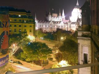 Huge bourgeois apartment with Parliament panorama - Budapest vacation rentals