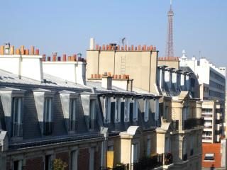 Studio direct view Eiffel Tower Paris XVe - Paris vacation rentals
