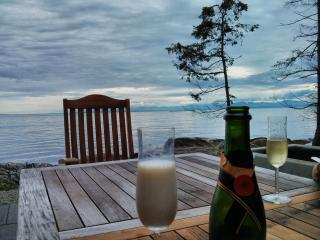 New, high end, low bank, water-front, south facing - Sechelt vacation rentals