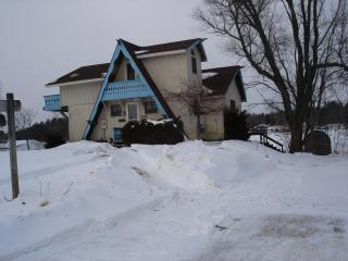 Lovely Chalet with Deck and Dishwasher - Cadillac vacation rentals