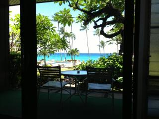Quiet Maui Ocean Front Condo with Pool and BBQ - Lahaina vacation rentals
