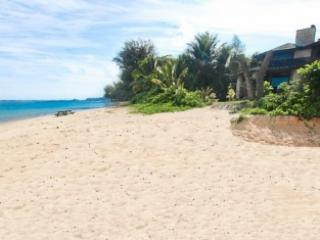 Calm waters for swimming & snorkeling! - Beautiful Beachfront Estate for 20 on Anini Beach! - Princeville - rentals