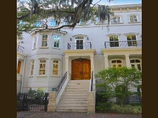 Award winning five story 3 BR home w/Elevator + garage on Forsyth Park - Savannah vacation rentals