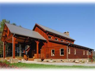 Custom Cabin, Walk to River*HotTub*VIEW*Fireplace - Image 1 - Sugar Grove - rentals