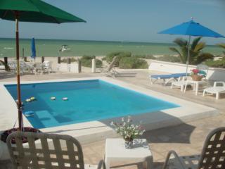 Uaymitun oceanfront w/pool - Telchac Puerto vacation rentals