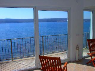 The sea view from Phoenix Villa - Penthouse Apartment on the Beach Near Zadar. - Gornji Karin - rentals