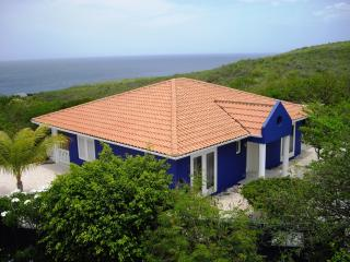 Vista Azul - Private villa with oceanview, pool, security and lots of privacy on resort Coral Estate Curacao - Westpunt vacation rentals