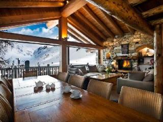 Chalet Lafitenia- unique Alps view, Ski-in/Ski out, 2 jacuzzis & staff - Savoie vacation rentals