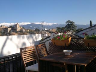 ALBAICÍN HOUSE PARKING FREE. ALHAMBRA VIEWS. WIFI - Monachil vacation rentals