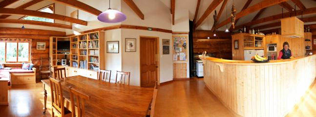 Kitchen/dining - Peel Forest Lodge -- Central South Island - Summer - rentals