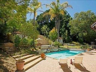 Montecito Sycamore Canyon Estate: Beautiful! Gated Acre! Families! Large POOL! - Santa Barbara vacation rentals