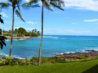 Free Car* Kuhio Shores 201 Beautiful Ocean Front 1bd, 1bath Condo - Poipu vacation rentals