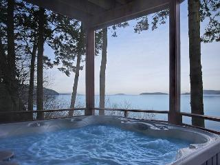 Beautiful Waterfront Home, Amazing Views and Hot Tub!! - (Channel Heights) - San Juan Island vacation rentals