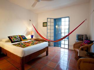 Tamarindo B&B Alba upstairs fan room - Cozumel vacation rentals