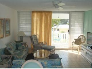 Living Room - Relax in Beautiful Condo - #26 Harbour Heights 7MB - Seven Mile Beach - rentals