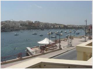 2 BEDROOM SEAFRONT APARTMENT - Marsascala vacation rentals