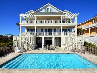 Oceanfront Home with Pool, Decks, Large Kitchen and Private Beach Access! - Isle of Palms vacation rentals