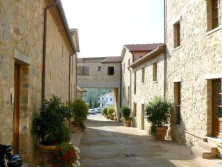 2 bedroom apartment in traditional Tuscan complex in village of Gaiole, sleeps 6, shared pool - Gaiole in Chianti vacation rentals
