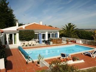 1003991 - Beautiful Air Conditioned Country Villa with large private Pool, Free Wifi - Sleeps 6 - Caldas da Rainha - Leiria vacation rentals
