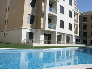 1008497 - Modern Sea View apartment with Pool, 50 meters from Beach - Sleeps 4 - Sao Martinho do Porto - Sao Martinho do Porto vacation rentals