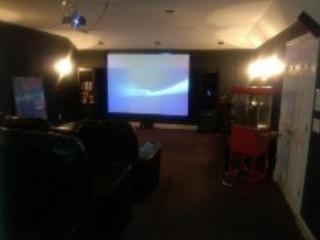 12 Seat Private Movie Theater - Atlanta Suburb 2000sf of  Comfortable Luxury - Atlanta - rentals