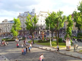 3 ROOMS on Svobody Ave (0 min CENTER) best VIEWS! - Lviv vacation rentals