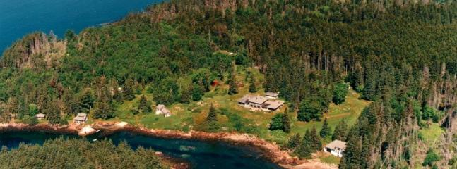 Aerial view of McGee - Private Island - Great for Reunions - Sleeps 24 - Port Clyde - rentals