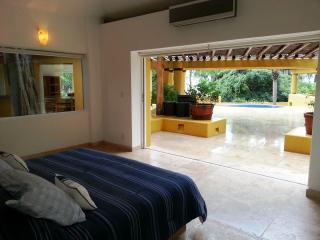 Oceanview villa in gated paradise; R/T transport - Chacala vacation rentals