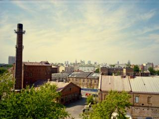 Loft style apartment, one bedroom - art & view 1 - Warsaw vacation rentals