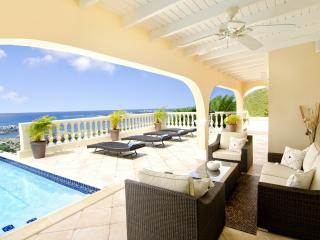 Huge Ocean Views, Ideal for Couples & Families, Pool, Short Drive to Beach & Restaurants - Cole Bay vacation rentals