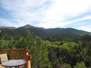 Colorado Mountain Log Cabin with views for miles! - Cripple Creek vacation rentals