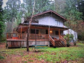 Great View of Sandy River,  Large Stone Fireplace, Hot Tub, Wifi - Mount Hood vacation rentals
