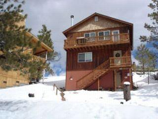Exterior view_(winter)_1 - Casa Sanchez Cabin - Big Bear Lake - rentals
