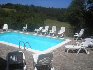 Great 3 Bedroom Villa on the Hills of Tuscany - Chiusdino vacation rentals