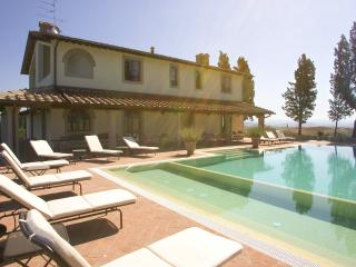 Absolute peaceful position for a 12 sleeps villa with pool - Montaione vacation rentals