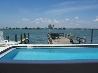 pool - Paradise Lane- Dolphin View on the Intercoastal !! - Treasure Island - rentals