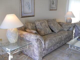 Living area - Amelia Surf & Racquet Club A-124 - Amelia Island - rentals
