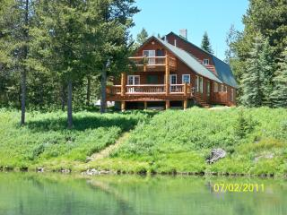 Waterfront cabin near Yellowstone National Park - Eastern Idaho vacation rentals