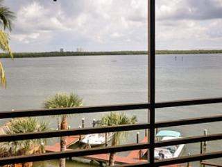 View from Balcony - Riverside Club, E-403 - Marco Island - rentals