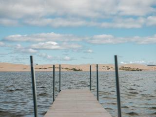 Driftwood. Silver Lake frontage with dune views. - Mears vacation rentals