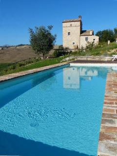watchtower house with pool in Le Marche,Italy - Montedinove vacation rentals