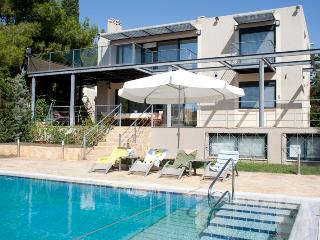 Astonishing Villa with Pvt Pool next to the beach - Lagonisi vacation rentals