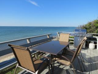 New, on the beach, sweeping bay views--026-B - Brewster vacation rentals